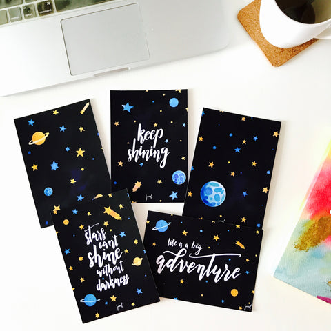 Keep Shining Postcards (set of 10)