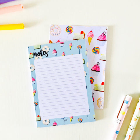 Sweet noting notepad