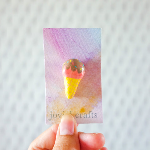Ice-cream pin