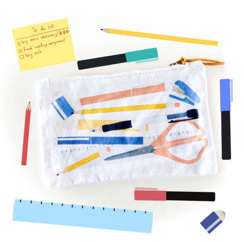 Stationery Addict Pouch