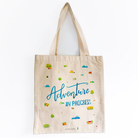Adventure in Progress Tote Bag