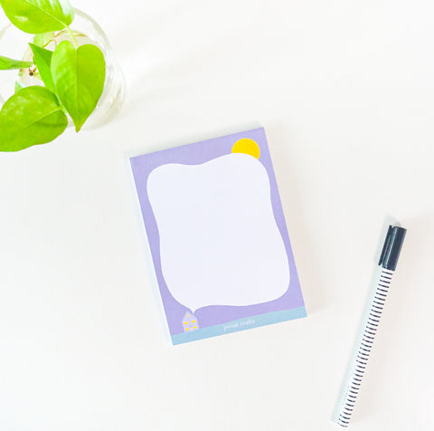Small Moments Notepad - Home