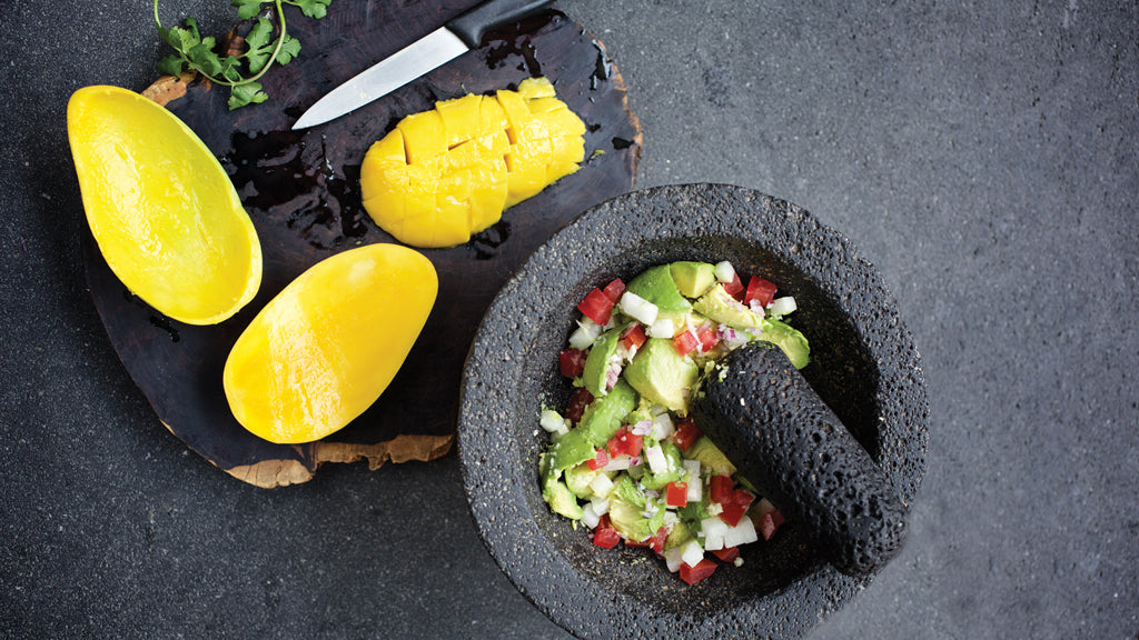 Tropical Mango Guacamole Salsa Recipe