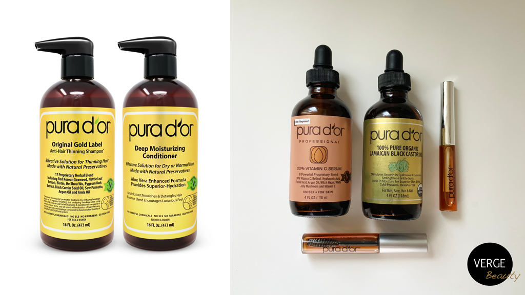 Pura D'or Gold Label Hair and Skin Care Product Review