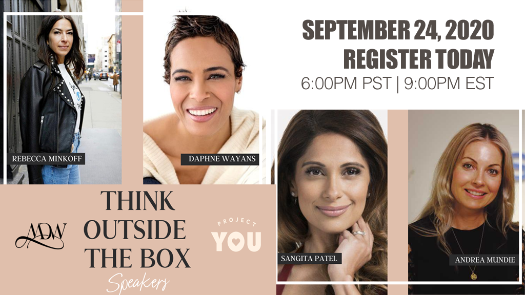 """Think Outside the Box"" Webinar Series – Level Up Your Life, Business and Career"