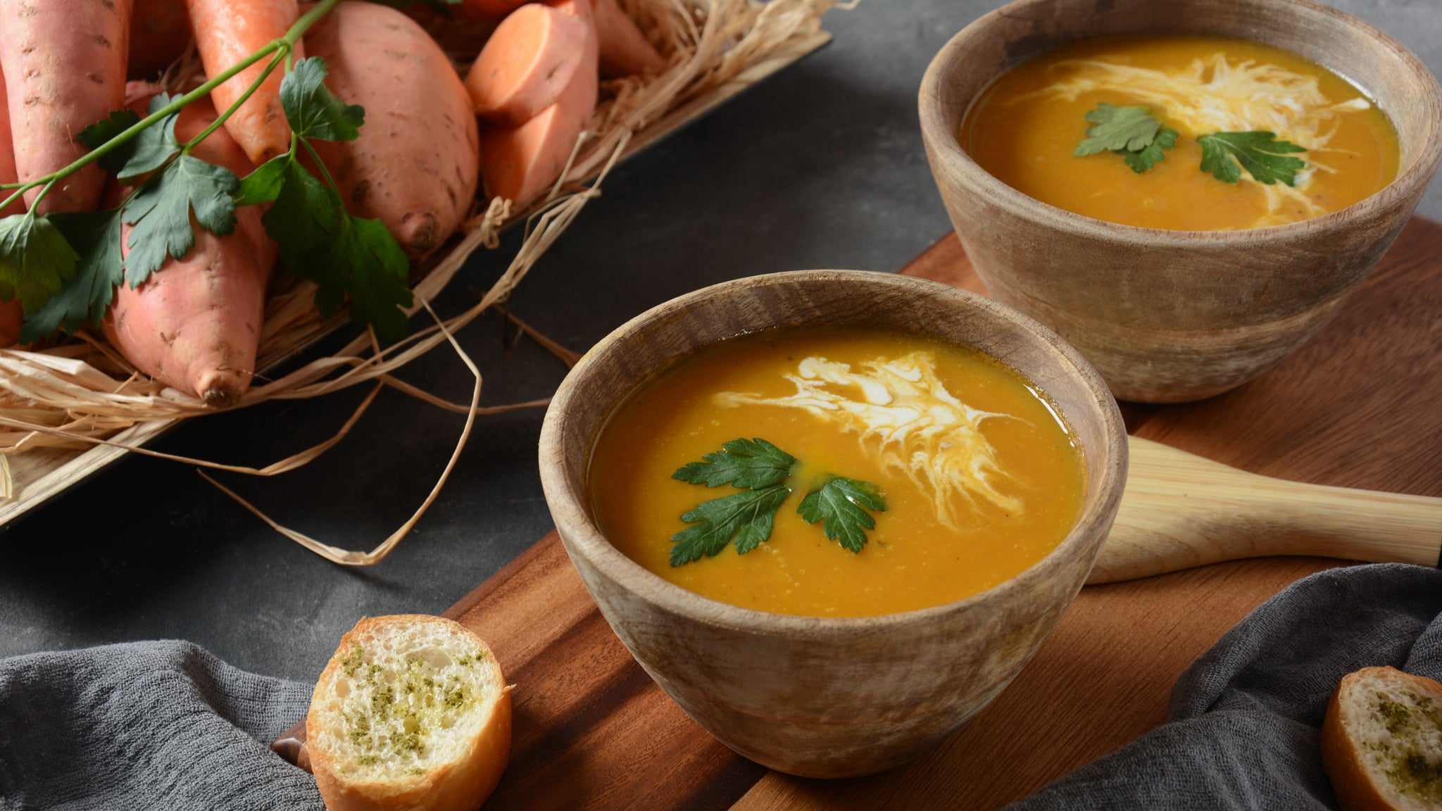 Boost Immunity Health with Sweet Potato Soup