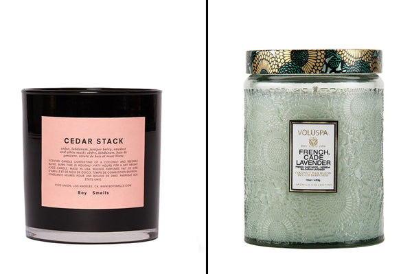 Scented Candles Holiday Gift Ideas for Women and Men