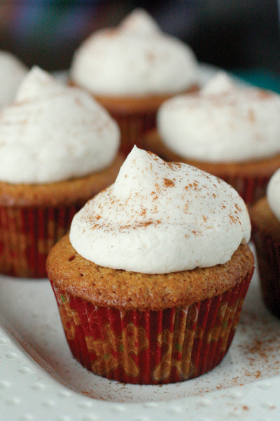 Gingerbread Cupcakes with Vanilla Buttercream Recipe_VERGE Lifestyle Magazine
