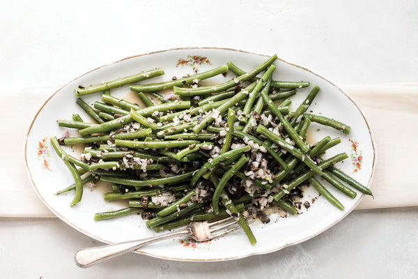Green Beans with Olive Butter Recipe