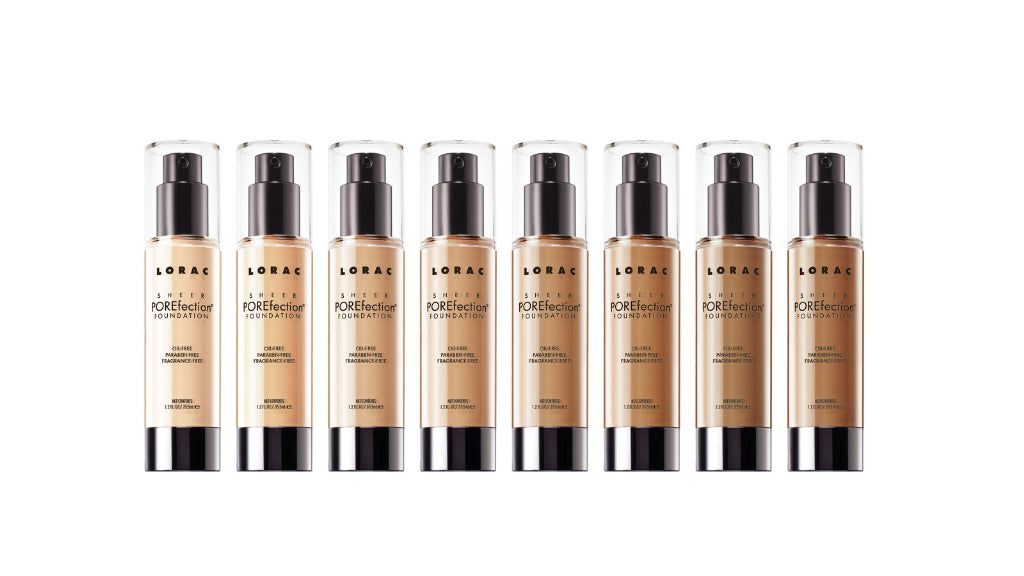 LORAC POREfection Sheer Foundation for Sensitive Skin Types
