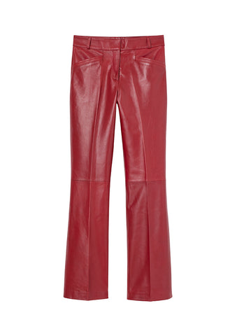 Red Leather Pants H&M Studio Collection AW 20