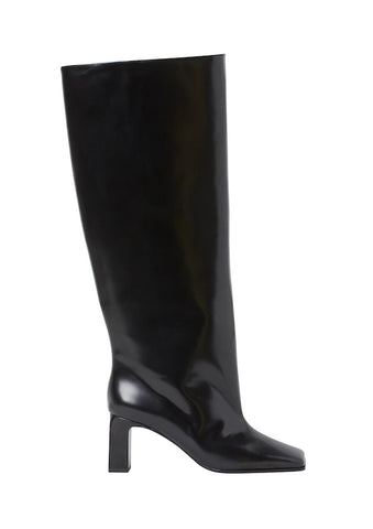Oversized Leather Boots H&M Studio Collection AW 20
