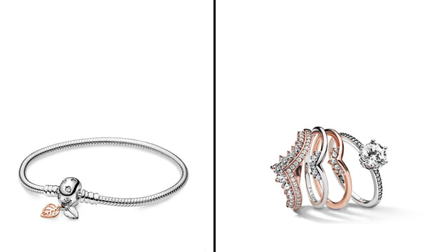 PANDORA Jewelry Bracelet and Stackable Rings_Gift Ideas for Her
