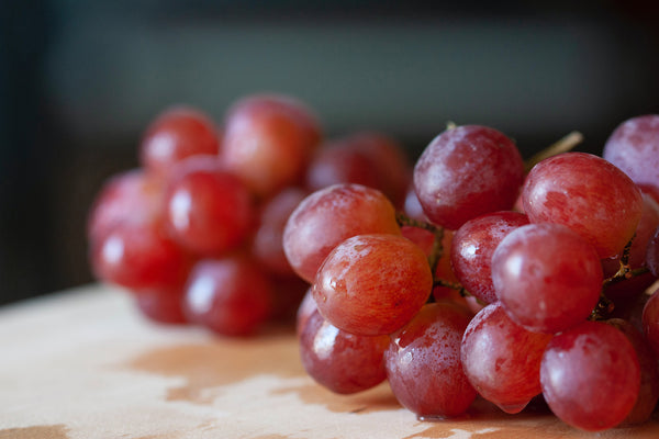 Healthy Cooking With Red Grapes