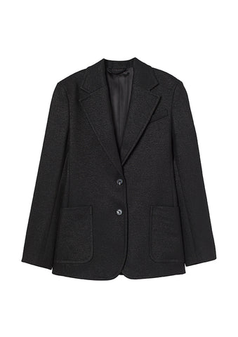 Shimmery Wool-blend Single-Breasted Blazer H&M Studio Collection AW 20