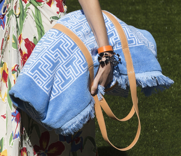 Tory Burch Towel T-Terry Tote Bag Spring Summer 2018