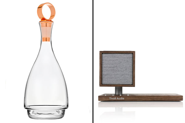 Wine Decanter and Blue Tooth Speaker_Gift Ideas for Him