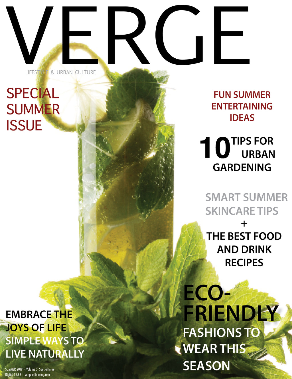 VERGE Lifestyle & Urban Culture Magazine - Magazine - VERGE 2019 - Special Summer Issue (Digital)