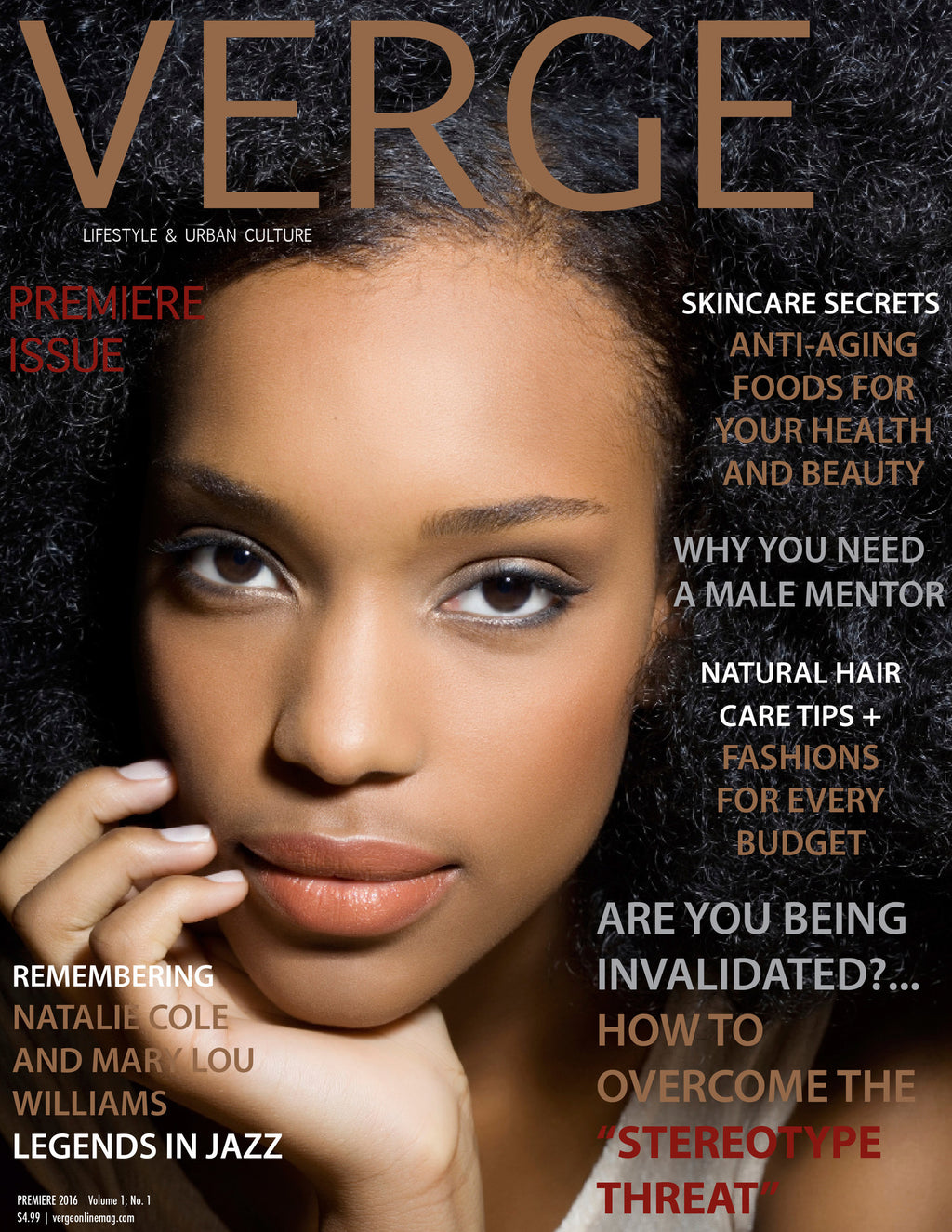 VERGE Lifestyle & Urban Culture Magazine - Magazine - Digital Premiere Issue 2016