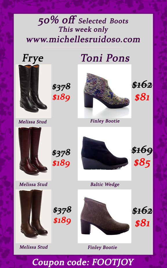 Winter boots sale - this week only