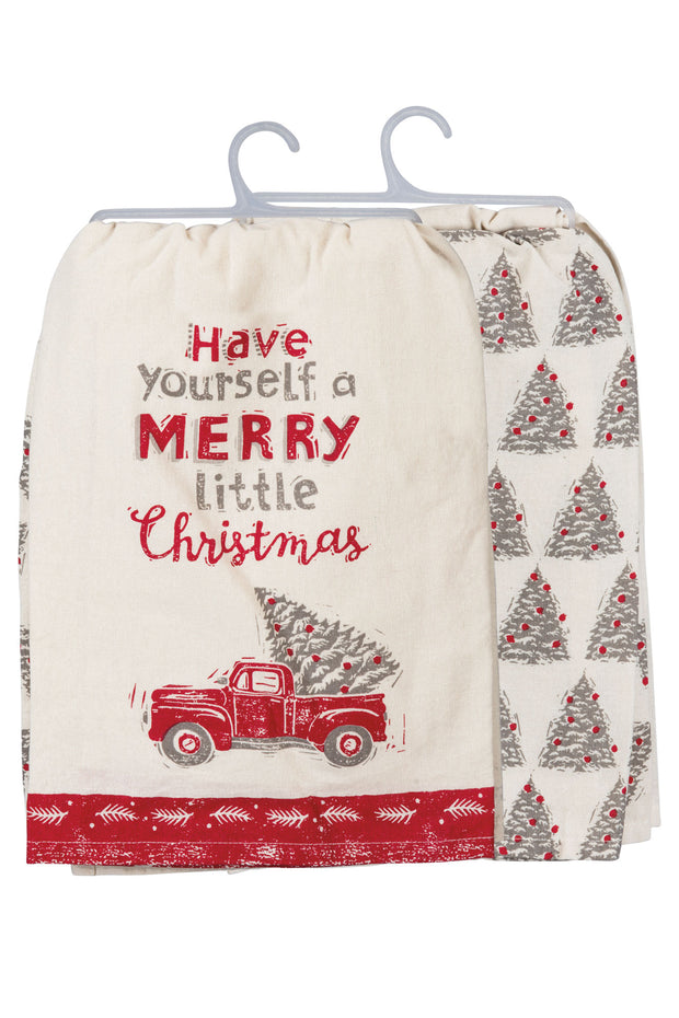 PBK - Have Yourself a Merry Christmas Dish Towel (P100613)