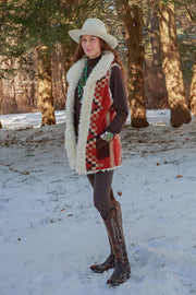 Great Plains Vest in Chili