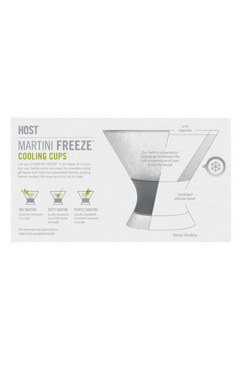 Martini Freeze Cooling Cups (2)