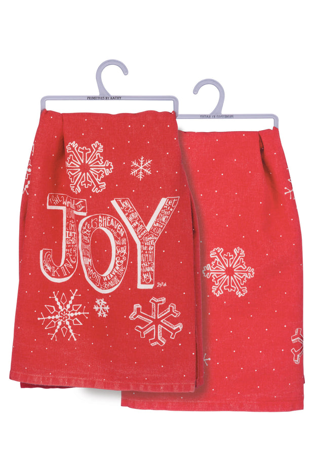 PBK - Joy Dish Towel in Red (P33354)