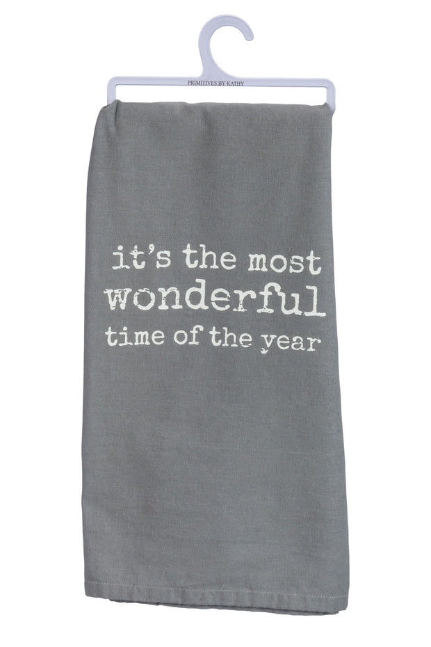 PBK - Wonderful Dish Towel in Grey (P34920)