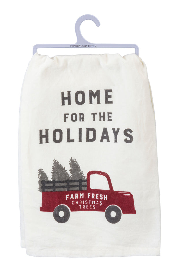 PBK - Home for the Holidays Dish Towel (P39922)
