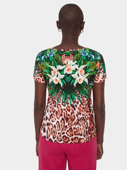 Desigual - Jungle Garden Tee (20SWTCK01/9019)