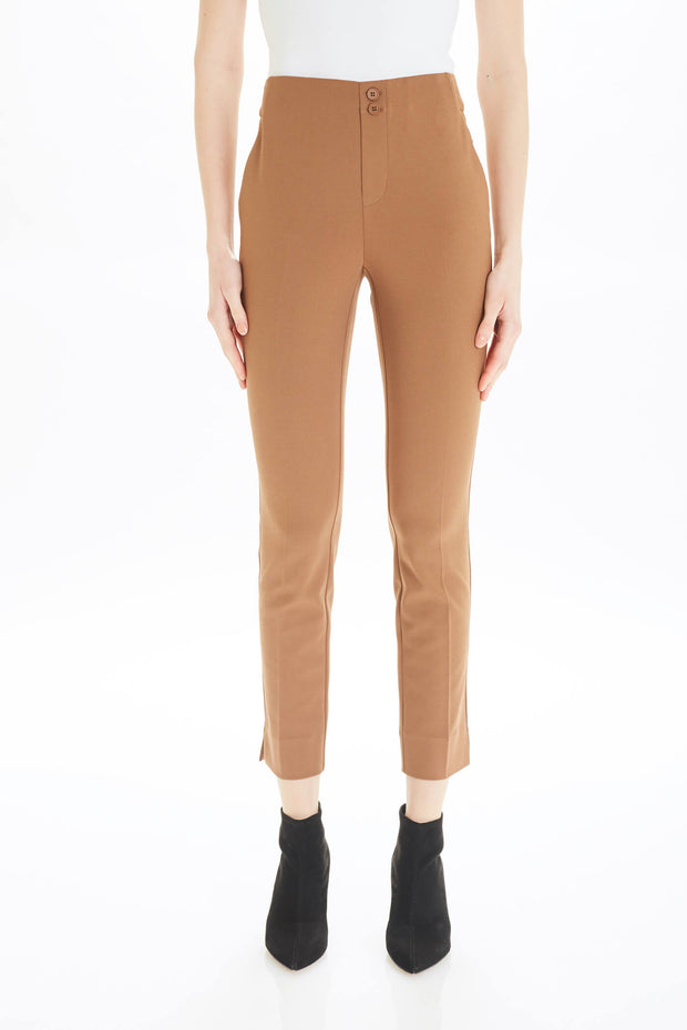 Jojo Pull-on Pant in Coco