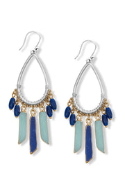 Multi-stone Chandelier Earrings