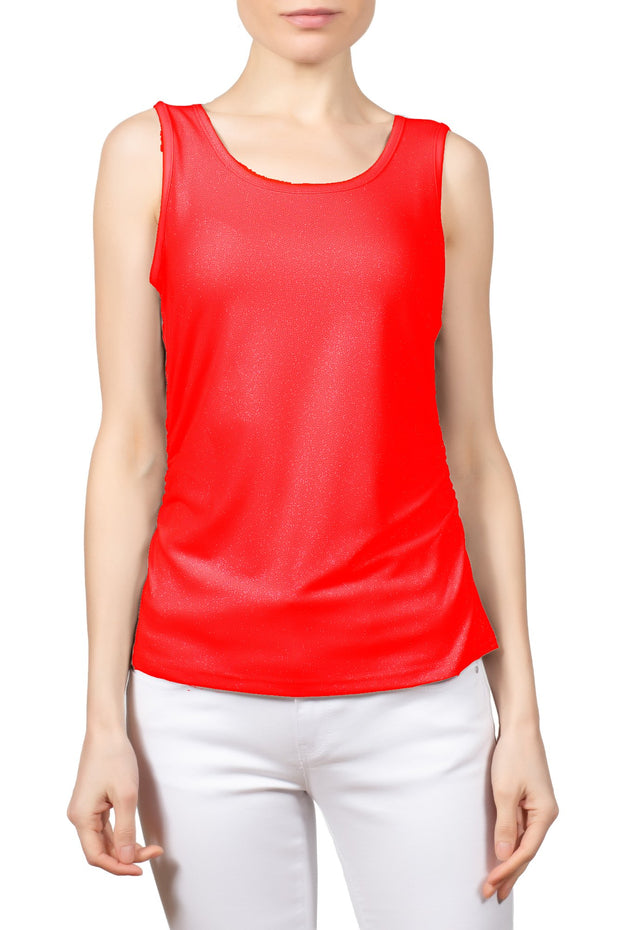 Berek - Metallic Diva Tank in Red (L526317)