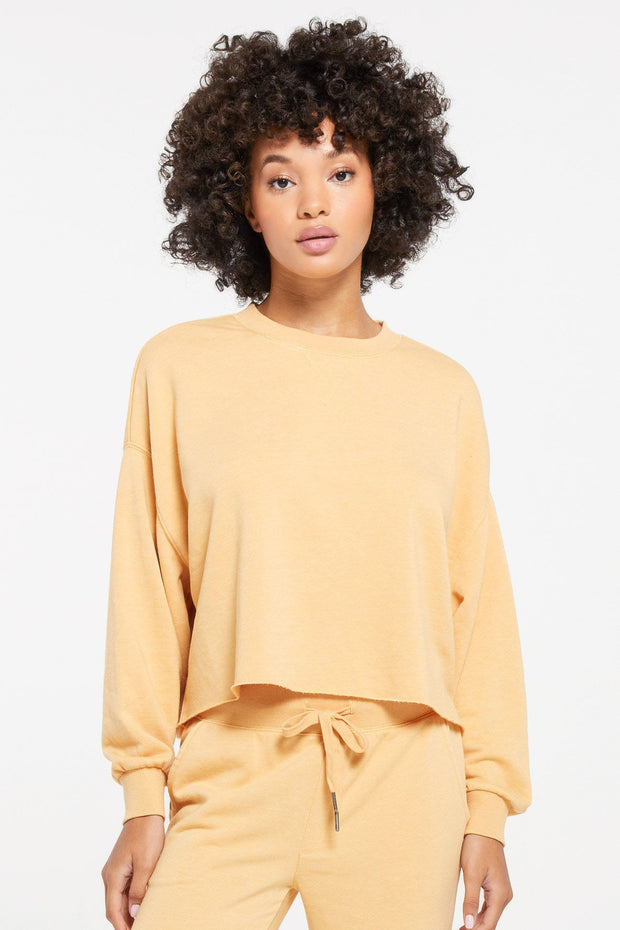 Izzy Loop Terry Sweater