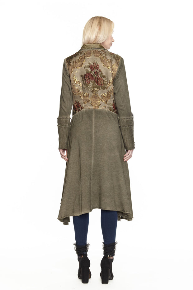 Aratta - Alma Coat in Major Brown (ED19GHI66R)