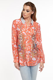 Aratta - Timeless Shirt in Red (ED20B315)