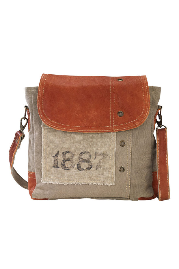 1887 Canvas Shoulder Tote