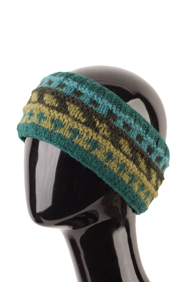 Striped Wool Headband