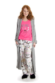 dELiAs - Coffee Pajama Set (S95501LA)