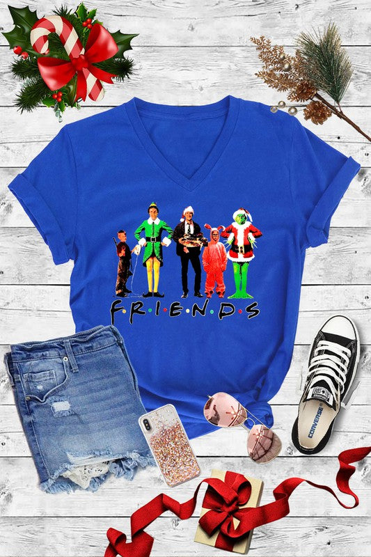 Christmas Movie Friend Tee