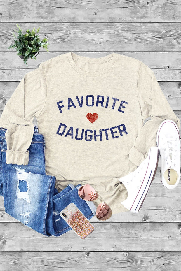 Favorite Daughter Long Sleeve Tee