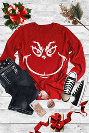 Unisex Long Sleeve Grinch Tee