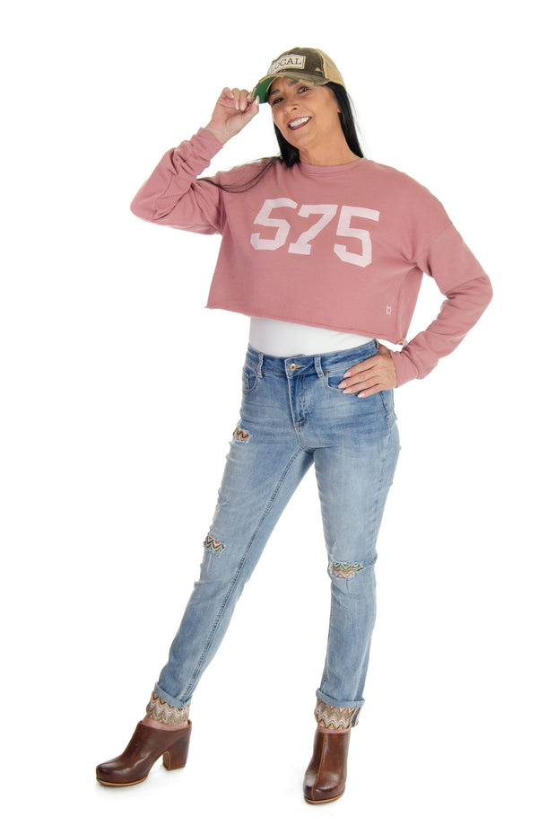575 Crop Fleece Sweatshirt