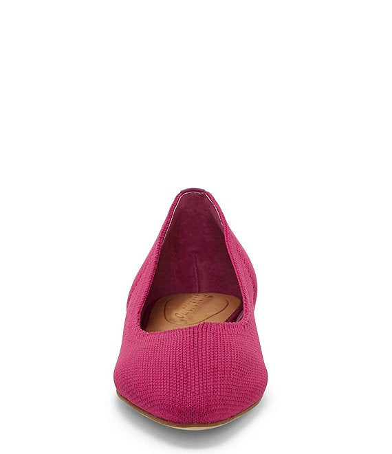 Corso Como - Julia Knit Slip-on Flat in Fuchsia Fest (Julia)
