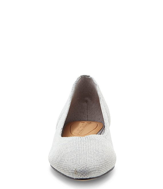 Corso Como - Julia Knit Slip-on Flat in Heather Grey (Julia)