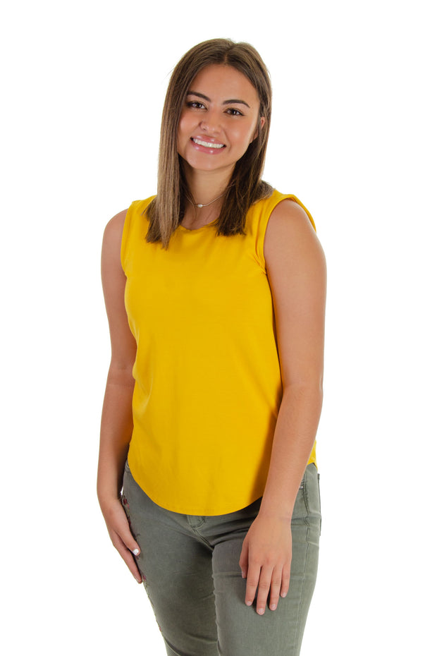 Cupio - Signature Sleeveless Top in Sugar Maple (CU32465)