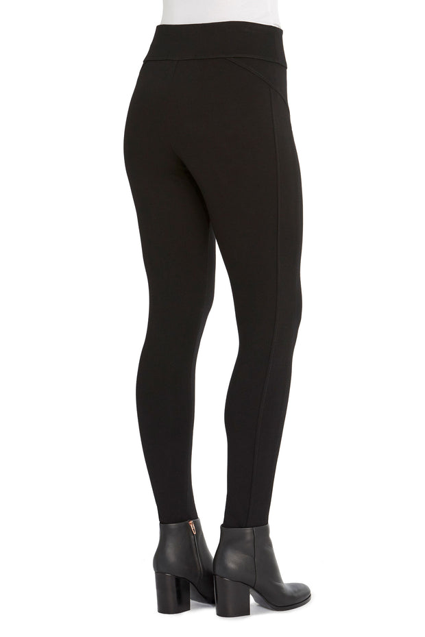 Glider Seamwork Legging in Black