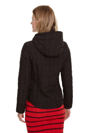 Desigual - Edimburgo Padded Jacket in Black (19WWEWBW)