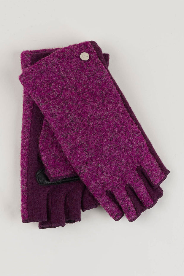 Echo - Boucle Fingerless Gloves (EG0135)